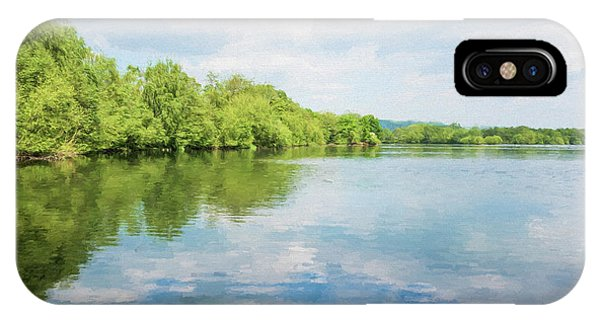 Treeline iPhone Case - Lake Reflections by Roy Pedersen