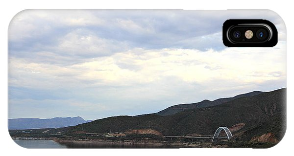 Lake Roosevelt Bridge 1 IPhone Case