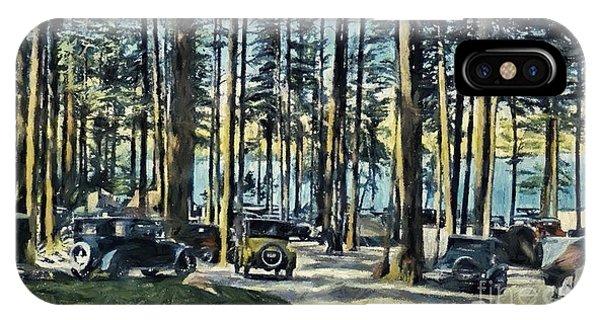 Lake Shore Park - Gilford N H IPhone Case