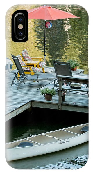 Lake-side Dock IPhone Case
