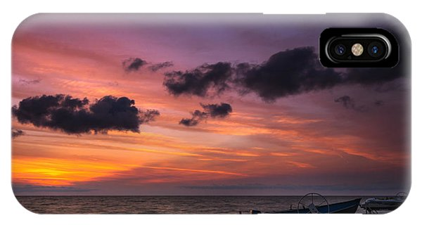Lake St. Clair Sunrise IPhone Case