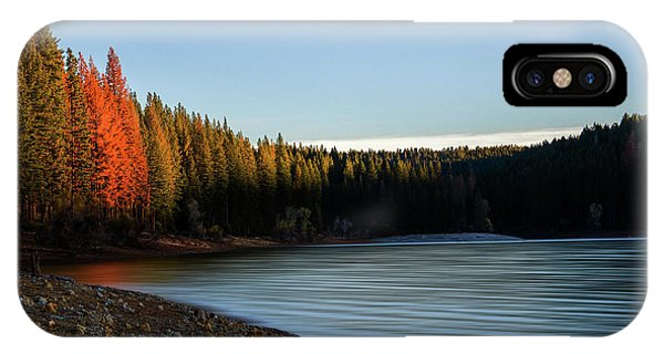 Lake Sunrise  IPhone Case
