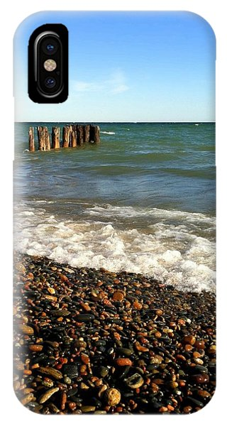 Lake Superior At Whitefish Point IPhone Case