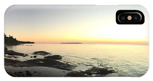 Lake Superior Evening Sky IPhone Case