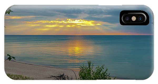 Lake Superior Sunset IPhone Case