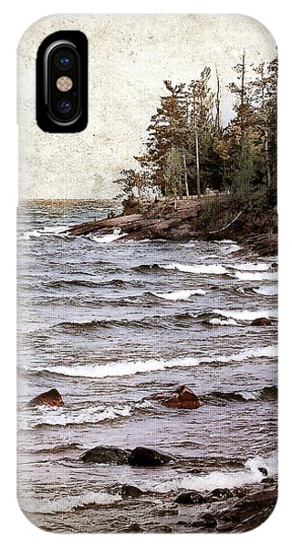 Lake Superior Waves IPhone Case