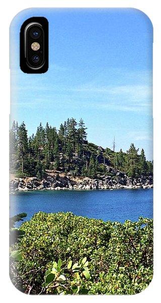 Lake Tahoe No. 17 IPhone Case