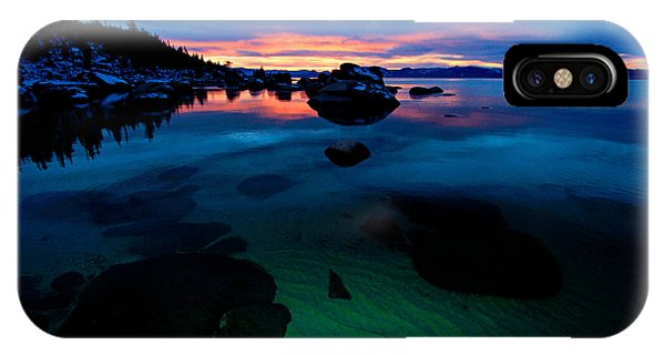 Lake Tahoe Clarity At Sundown IPhone Case