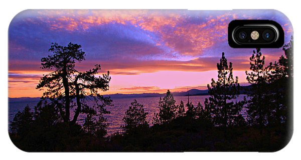Lake Tahoe Crescendo IPhone Case