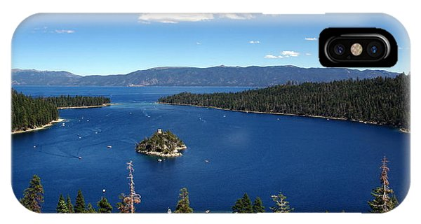 Lake Tahoe Emerald Bay IPhone Case