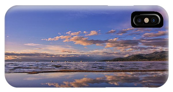 Lake Tahoe Evening IPhone Case