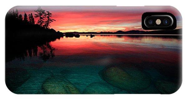 Lake Tahoe Jewels IPhone Case