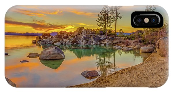 Lake Tahoe Majestic Sunset IPhone Case