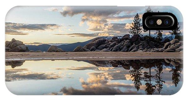 Lake Tahoe Mirror IPhone Case