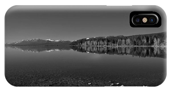 Lake Tahoe Reflections IPhone Case