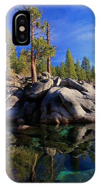 Lake Tahoe Rocks IPhone Case