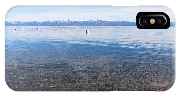 Lake Tahoe IPhone Case