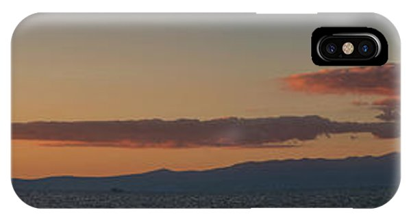 Lake Tahoe South Shore Panorama - 1 IPhone Case