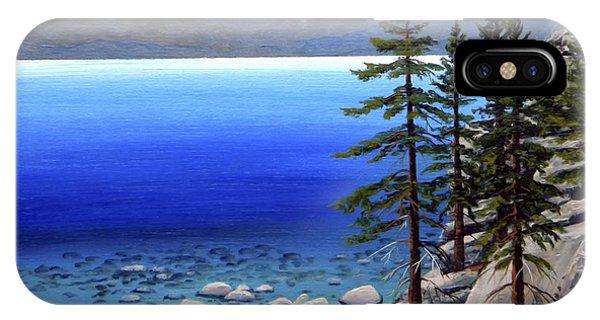 Lake Tahoe Sunrise IPhone Case