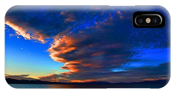 Lake Tahoe Sunset IPhone Case