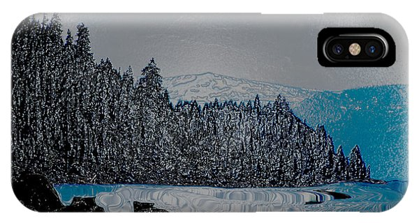 Lake Tahoe Wrapped IPhone Case