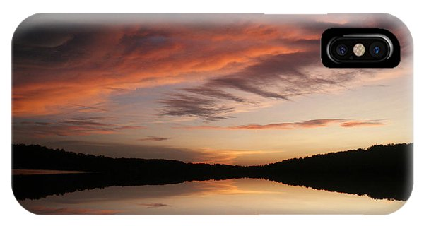 Lake Thunderbird Sunset IPhone Case