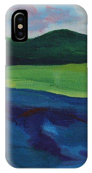 Lake Visit IPhone Case