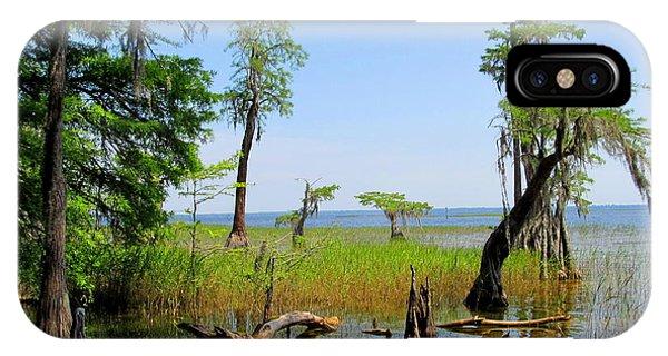Lake Waccamaw Nc IPhone Case