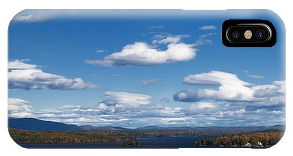 New Hampshire iPhone Case - Lake Winnipesaukee New Hampshire In Autumn by Stephanie McDowell