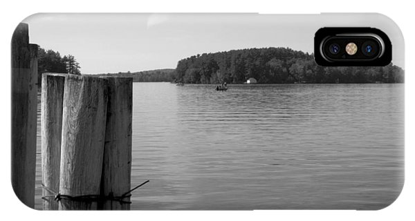 Lake Winnipesaukee Pilings IPhone Case