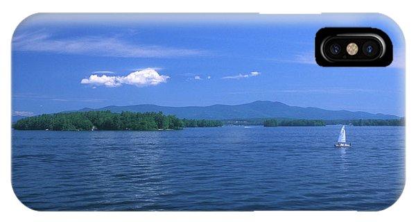 New Hampshire iPhone Case - Lake Winnipesaukee Summer Day by John Burk