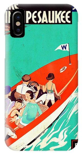 Lake Winnipesaukee - Vintagelized IPhone Case