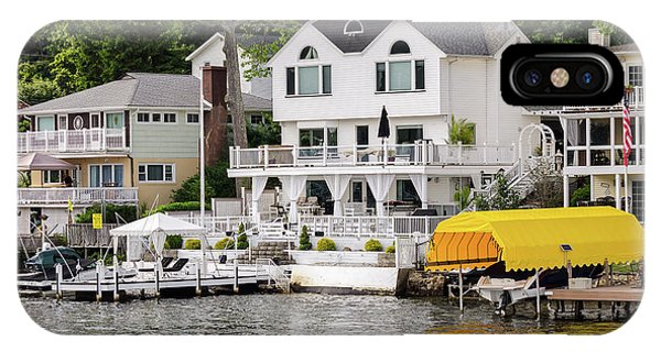 Lakefront Living Hopatcong IPhone Case