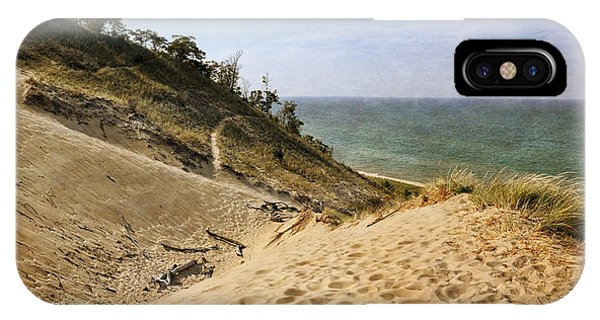 IPhone Case featuring the photograph Laketown Dune Panorama by Michelle Calkins