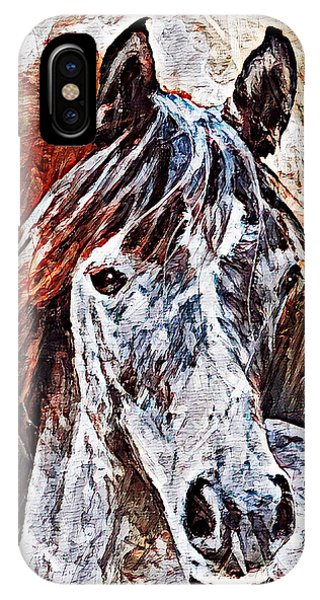 IPhone Case featuring the painting Lakota by Lita Kelley