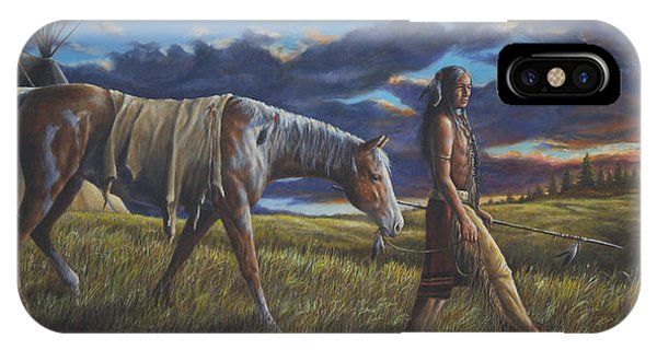 Lakota Sunrise IPhone Case