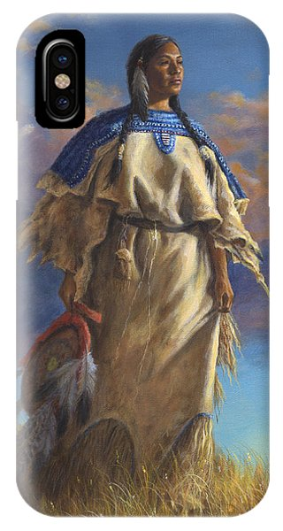 Lakota Woman IPhone Case