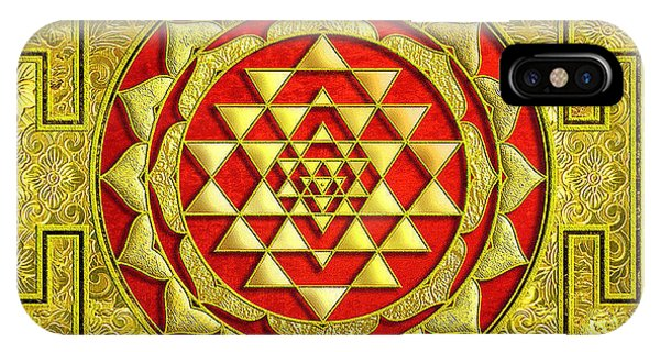 Lakshmi Kubera Yantra IPhone Case