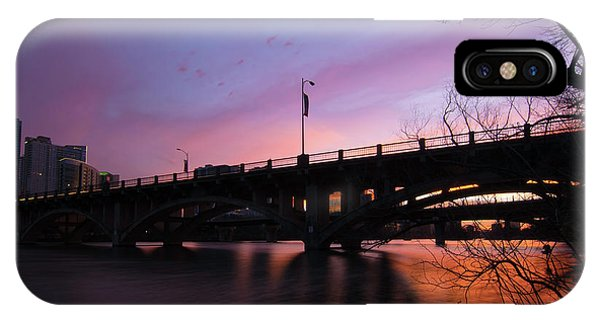 Lamar Blvd Bridge IPhone Case