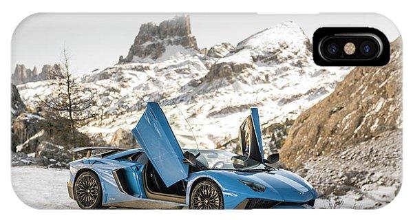 Lamborghini Aventador Sv IPhone Case