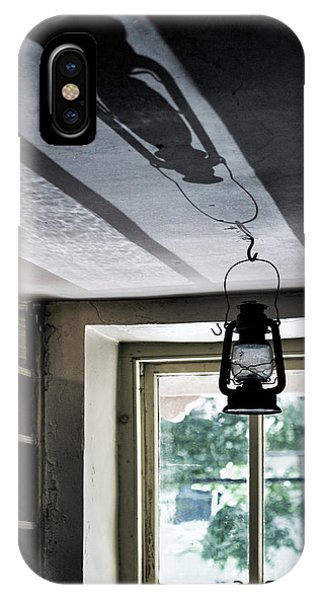 Roxbury iPhone Case - Lamp Light And Shadow by Mark Miller