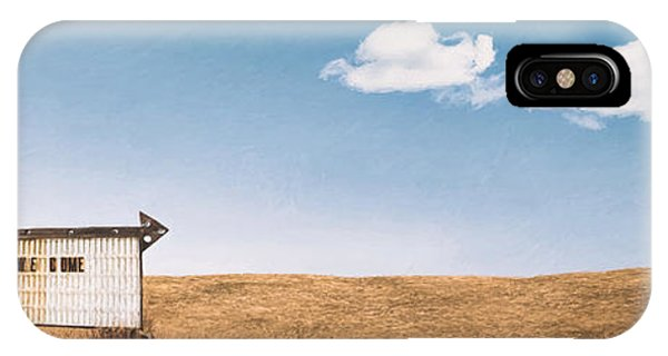 Desolation iPhone Case - Lamp-lite Motel by Scott Norris