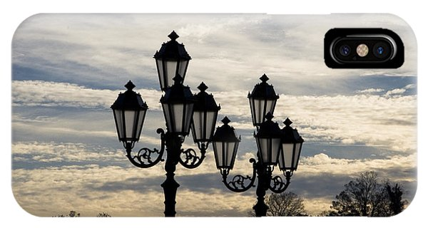 Lampposts IPhone Case