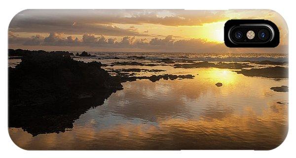 Lanai Sunset #1 IPhone Case