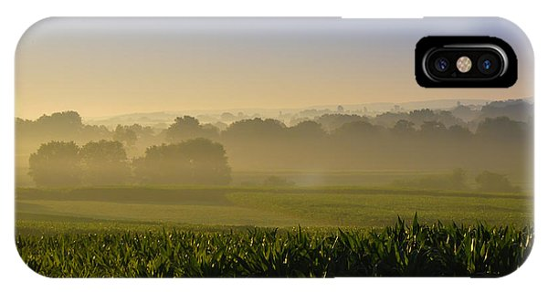 Amish iPhone Case - Lancaster County Sunrise by Bill Cannon