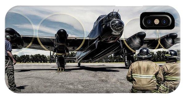 Lancaster Engine Test IPhone Case