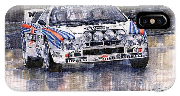 Lancia 037 Martini Rally 1983 IPhone Case