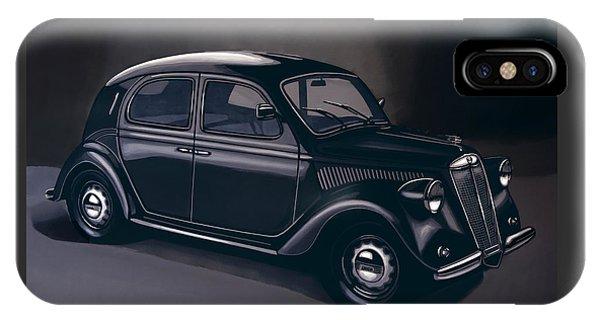 Lancia Ardea 1939 Painting IPhone Case