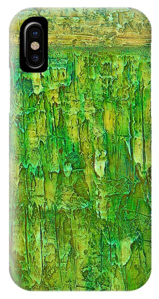 Land In Green IPhone Case