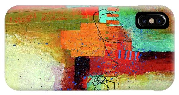 Panel iPhone Case - Land Line #1 by Jane Davies